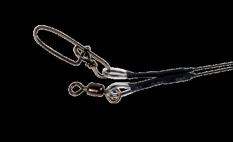"Titanium Wire leader 7-strand 18"", 60lbs"