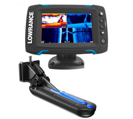 Lowrance Elite 5-Ti inkl. Totalscan givare