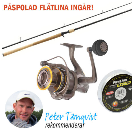 Peter Törnqvist fiskeset Lightning 8
