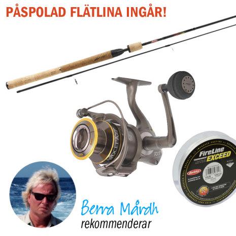 Berra Mårdh fiskeset Lightning Combo HT 7´
