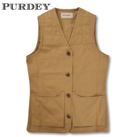Purdey Game Cartridge Vest Brun XXL