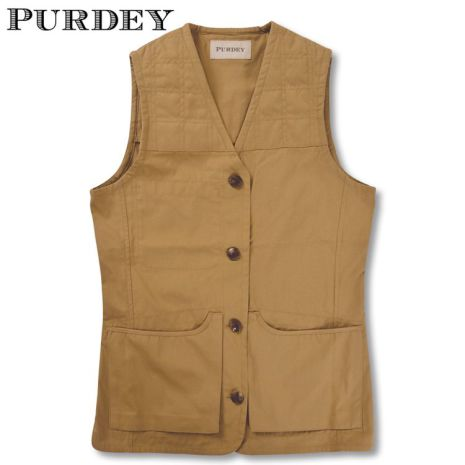 Purdey Game Cartridge Vest Brun XXL