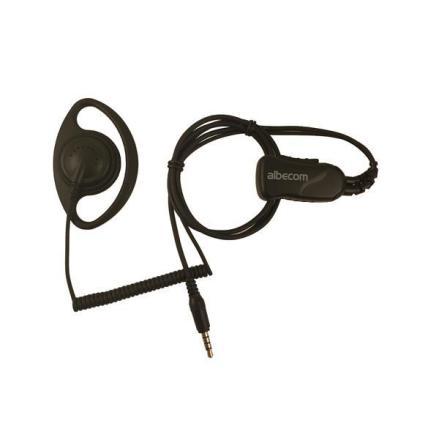 Mini Headset LGR59-Y. Yttre Rak 4-pol.Pro-Fighter