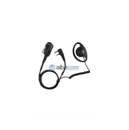 Mini Headset LGR59-PJV. Yttre Vinklad 3-pol.Pro-Kom