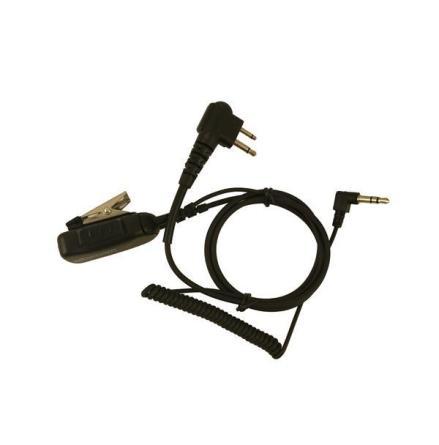 Kabel Hörselskydd 3,5mm.PTT-M1 Vinklad 2,5+3,5mm-M1/ 3,5mm Kåpa
