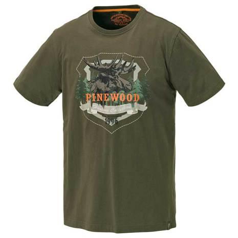 T-Shirt Moose Grå